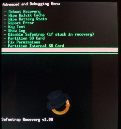Wipe Cache Partition Droid Motorola