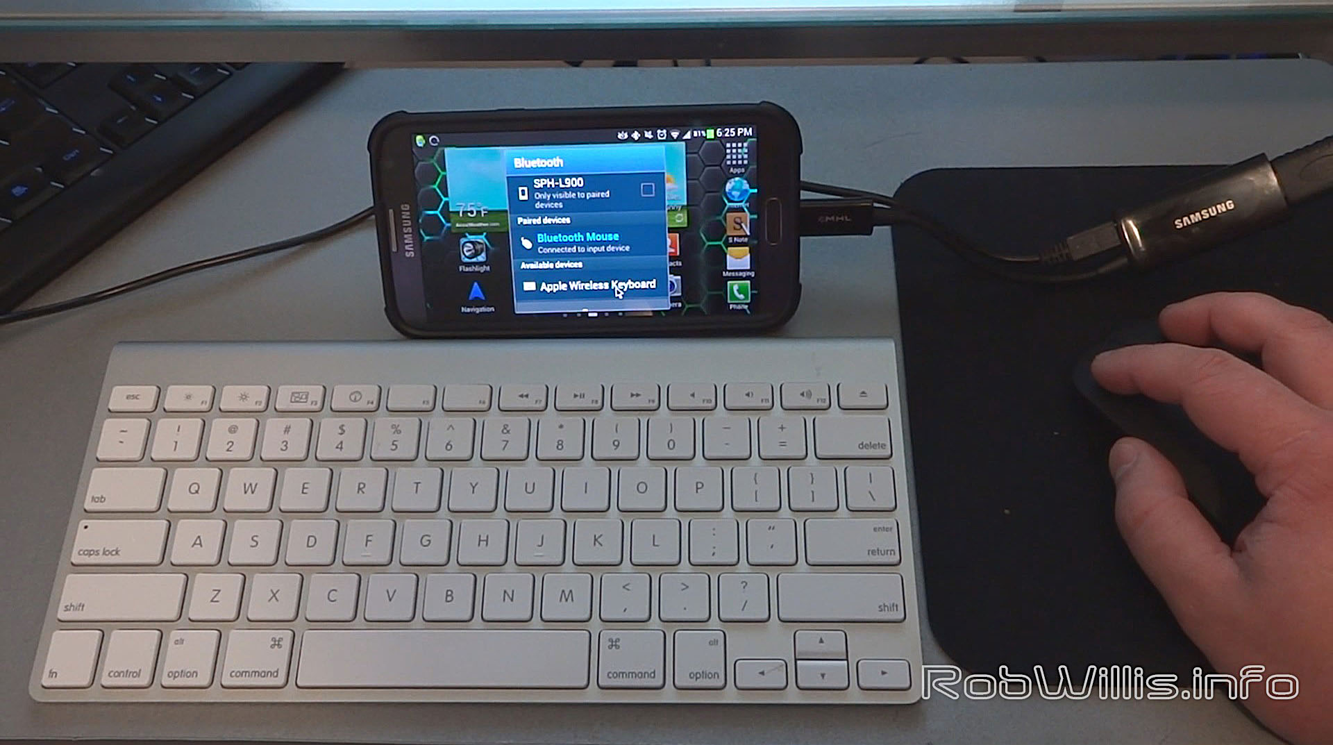 bluetooth keyboard and mouse for phone