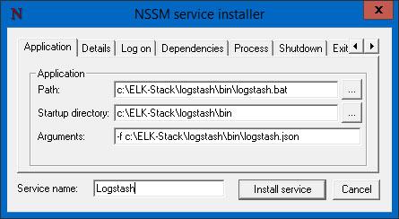 Installing Elasticsearch, Logstash and Kibana (ELK) on Windows