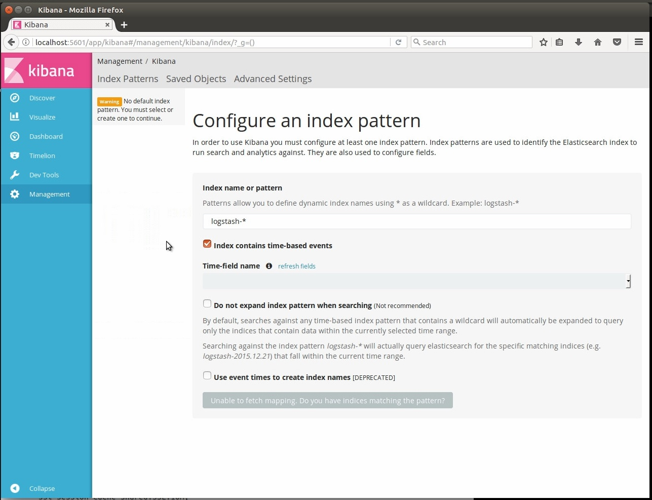 ELK 5 on Ubuntu: Pt  2 - Installing and Configuring