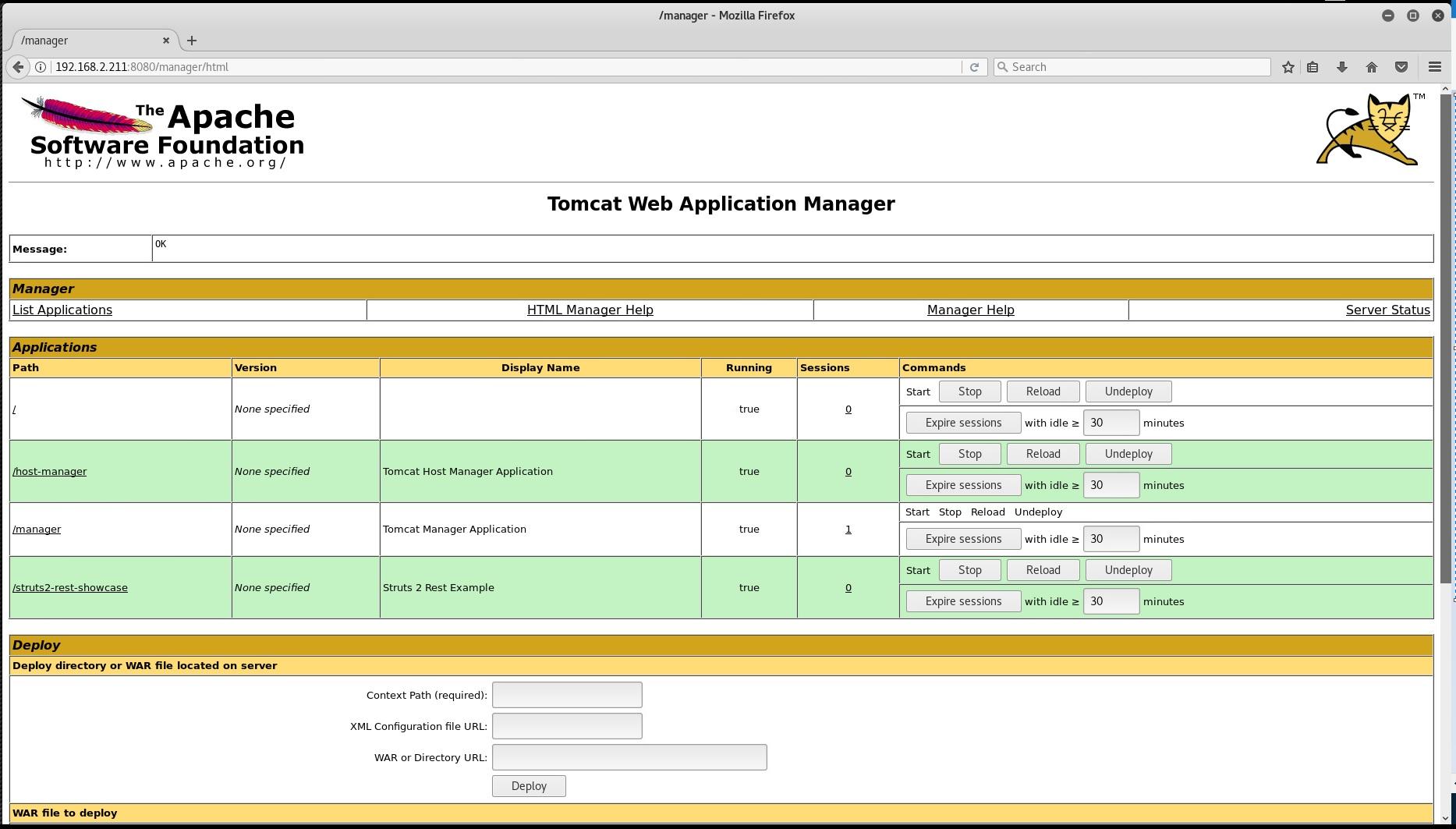 Exploiting Apache Struts - CVE-2017-9805 | RobWillis info