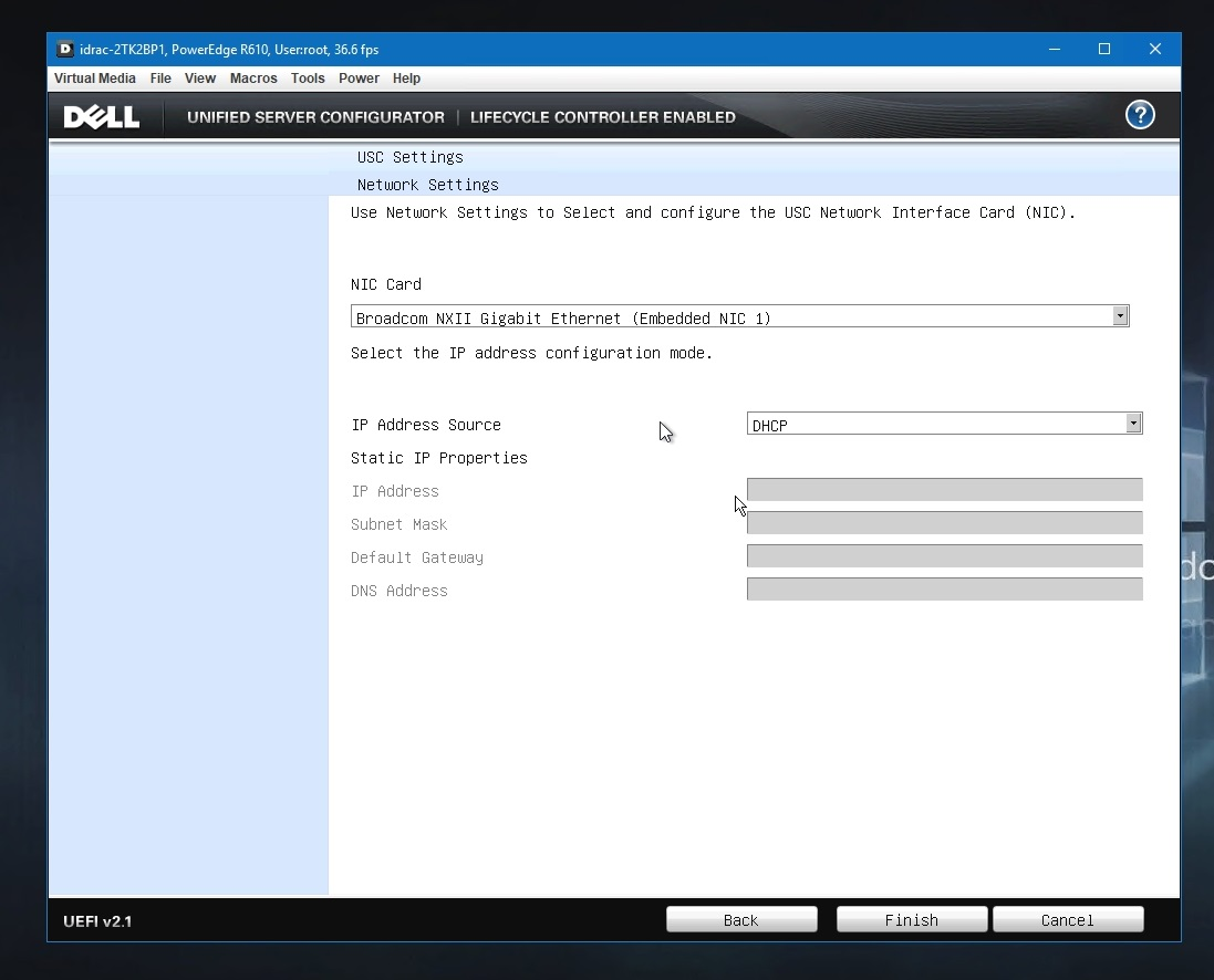 PowerEdge R610 - Updating Firmwares When the LifeCycle Controller
