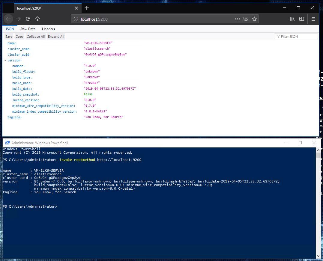 Installing ELK 7 (Elasticsearch, Logstash and Kibana