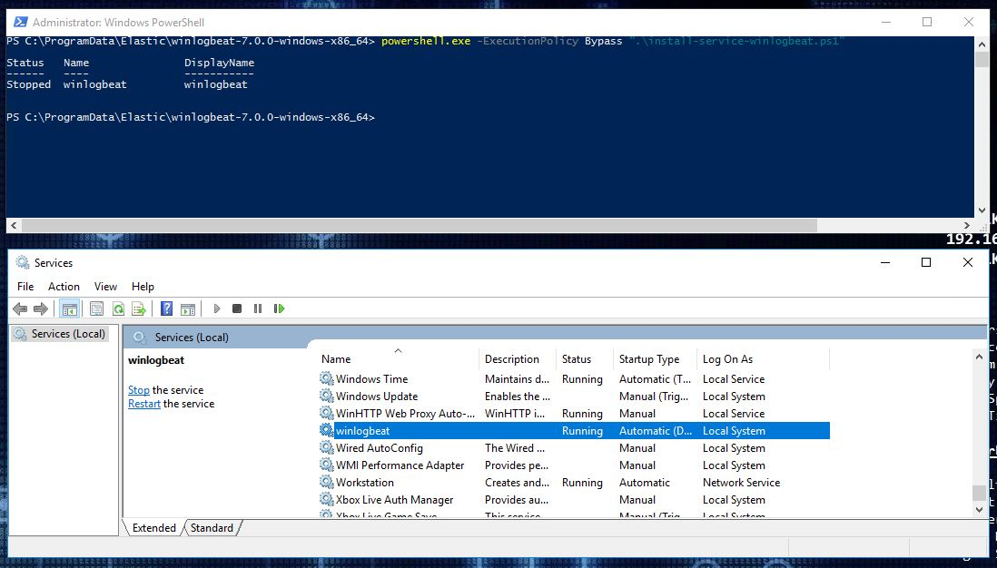 Gathering Windows, PowerShell and Sysmon Events with Winlogbeat