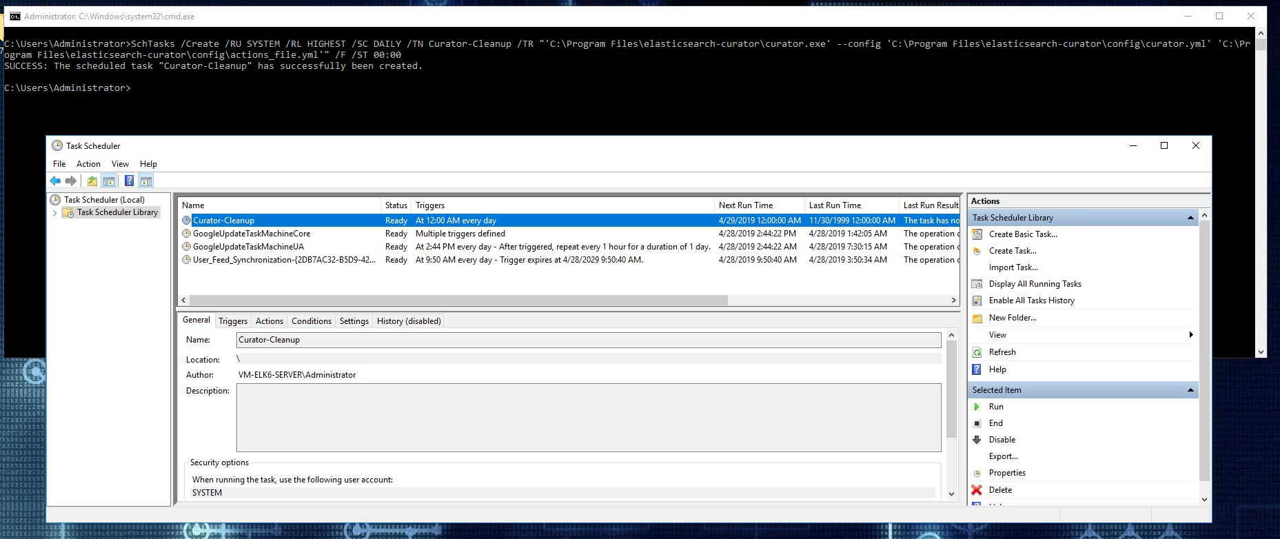 Installing ELK 7 (Elasticsearch, Logstash and Kibana) - Windows